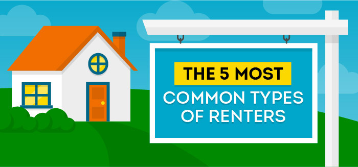 most common types of renters