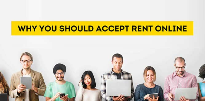 accepting online payments for rent